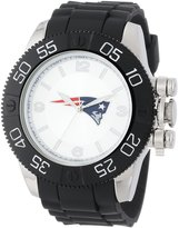 Game Time Men's NFL-BEA-NE Beast Round Analog Watch