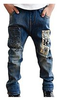 Mactery Boys Spring Fall Casual Jeans Age 3