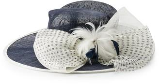 Scala Women's Polka Dot Derby Hat