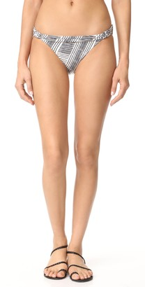 Vix Women's Brushed Bia Tube Full Coverage Bikini Bottom