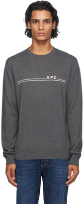 A.P.C. Grey Eponyme Sweater