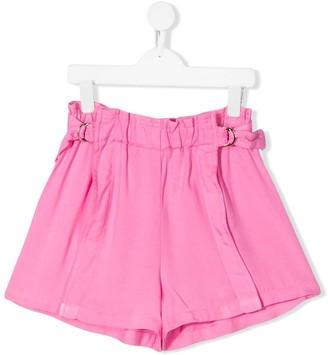 Chloé Kids TEEN adjustable strap shorts