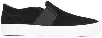Vince Fenton Suede Slip-On Sneakers