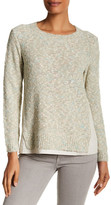 Lafayette 148 New York Boucle Knit Pullover