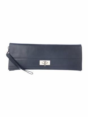 Givenchy Claw Twist Lock Clutch Black