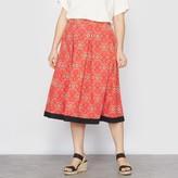 Taillissime Boubou Print Skater Skirt