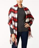 Charter Club Tartan Plaid Blanket Wrap & Scarf in One, Created for Macy's