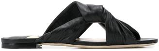 Jimmy Choo Lela flat sandals