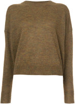 Etoile Isabel Marant round neck jumper - women - Acrylic/Polyamide/Mohair/Alpaca - 36