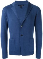 Lardini woven single breasted blazer