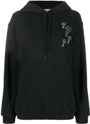 Mcq Swallow Buzzed hooded sweatshirt