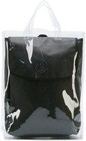 Yohji Yamamoto double backpack