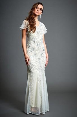 Linzi Jywal London Molly Embellished Evening Formal Dress