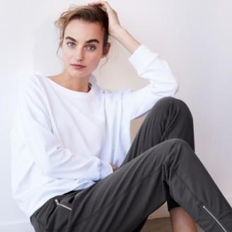 The White Company Cord Jersey Sweatshirt, Ivory, Extra Large