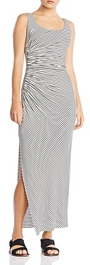 Bailey 44 Duststorm Ruched Striped Maxi Dress