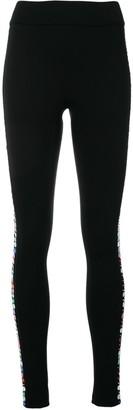 NO KA 'OI Side Sequins Sports Leggings