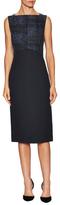 Jason Wu Tweed Bodice Sheath Dress