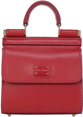 Dolce & Gabbana Micro Sicily 58 Shoulder Bag