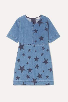 Stella McCartney Printed Denim Dress - Blue