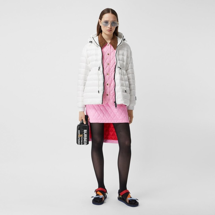 Burberry ightweight Hooded Puffer Jacket