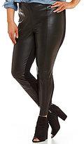 Jessica Simpson Plus Tricia Faux Leather Leggings