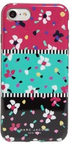 Marc Jacobs Painted Flowers Iphone 7 Case - Black