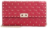 Valentino Rockstud Spike Small Leather Clutch