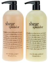 philosophy Super-Size Shear Splendor Shampoo And Conditioner Duo