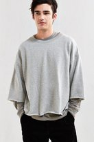Urban Outfitters Frazier 3/4-Sleeve Sweatshirt