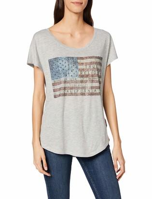 True Religion Women's Crewneck Tshirt Relax American T-Shirt