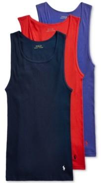 Polo Ralph Lauren Men's 3-Pk. Classic Tank Tops