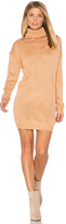 Reverse Cut It Out Sweater Dress