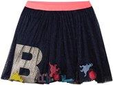 Billieblush Tulle Skirt (Toddler/Kid) - Midnight Blue - 6 Years