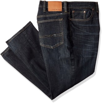 Lucky Brand Men's Big and Tall Big & Tall 410 Athletic Jean in Barite 44X32
