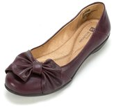 White Mountain Mina Women US Size 8 Purple Faux Leather Flats