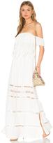 Greylin Fatina Off Shoulder Maxi Dress