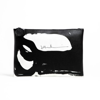 Black Line Crazy Just Chillin' Pouch