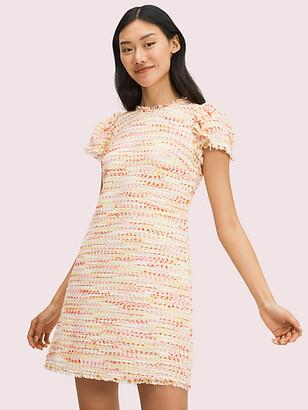 Kate Spade Multi Tweed Shift Dress