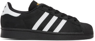 adidas Black Nubuck Superstar ADV Sneakers