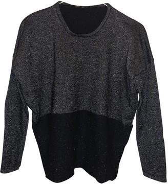 Maje Black Wool Knitwear