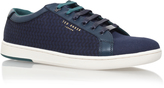 Ted Baker Keeran 3 Tennis Sneaker In Navy