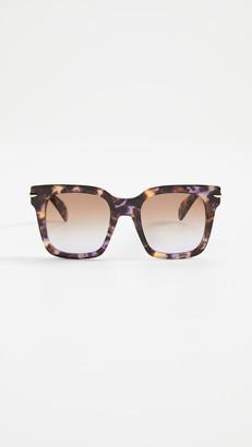 Rag & Bone Oversized Square Sunglasses
