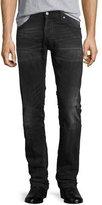 Nudie Jeans Grim Tim Henry Replica Slim Jeans, Charcoal