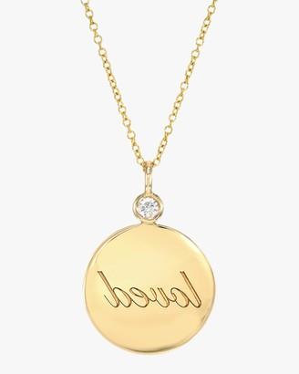 Dru Loved Reflection Medallion Pendant Necklace
