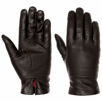 Caridei Classic Nappa Leather Womens Gloves womens (8 HS - black)