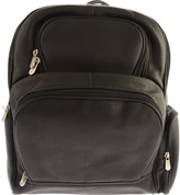 Piel Leather Half-Moon Laptop Backpack 2992
