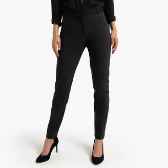 Naf Naf Slim Suit Trousers with Belt Detail