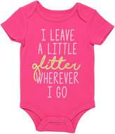 Baby Starters Hot Pink 'Glitter' Bodysuit - Infant