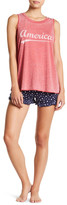 PJ Salvage All America Stars Pajama Shorts