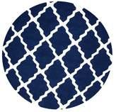 Zipcode Design Bullock Moroccan Trellis Navy Area Rug Rug
